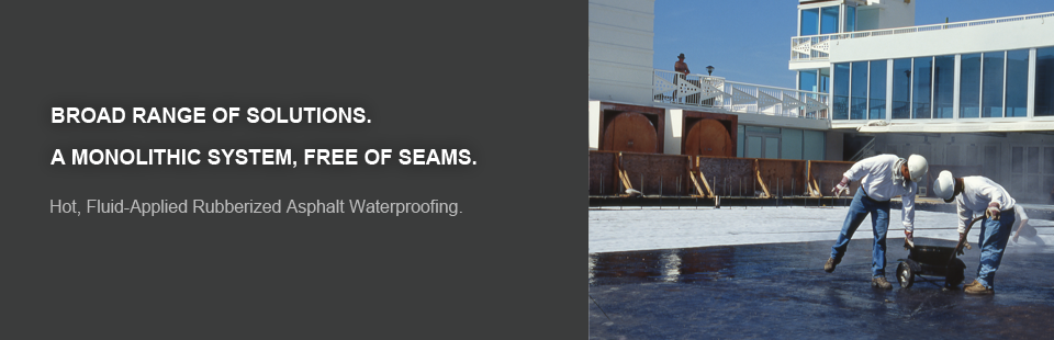 Hot-Applied Waterproofing > Carlisle Coatings and Waterproofing